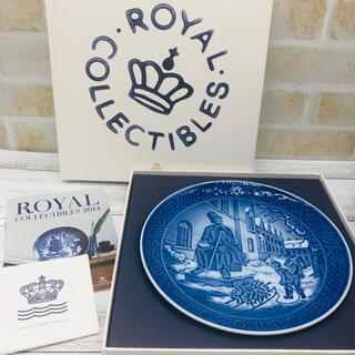 ロイヤルコペンハーゲン(ROYAL COPENHAGEN)の《新品・未使用》ロイヤルコペンハーゲン イヤープレート 2014(日用品/生活雑貨)
