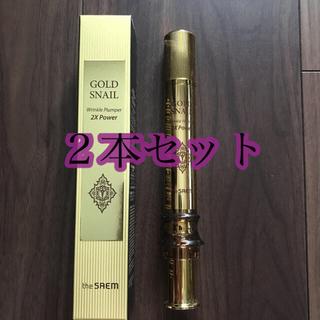 ザセム(the saem)のtheSAME Gold Snail Wrinkle Plumper(美容液)