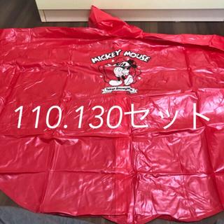 ディズニー(Disney)のディズニーランド購入 レインポンチョ  130cm(レインコート)