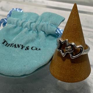 ティファニー(Tiffany & Co.)のオールドティファニー TIFFANY コンビ スター ハート リング 18k(リング(指輪))