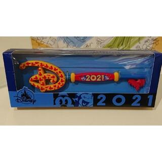 ディズニー(Disney)のディズニー ミッキー&ミニー 2021年デザイン コレクタブルキー(キャラクターグッズ)