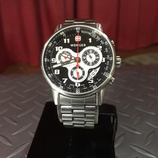 ウェンガー(Wenger)の☆WENGER☆ ウェンガー // クロノグラフ 腕時計(腕時計(アナログ))