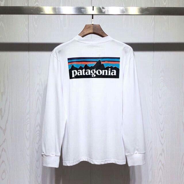 patagonia(パタゴニア)の新品 patagonia パタゴニア 長袖ロン ホワイト XL メンズのトップス(Tシャツ/カットソー(七分/長袖))の商品写真