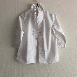 ナラカミーチェ(NARACAMICIE)の白の七分袖ブラウス(シャツ/ブラウス(長袖/七分))