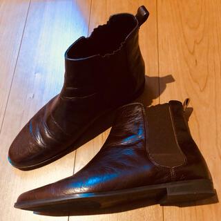 ザラ(ZARA)のZARA BASIC サイドゴアブーツ(ブーツ)