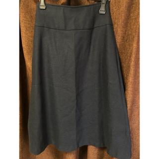 プラステ(PLST)のプラステ ウォームリザーブAラインスカート(ひざ丈スカート)