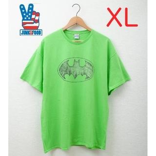ジャンクフード(JUNK FOOD)の【新品未使用】XLサイズ JUNK FOOD バットマンデザイン 半袖Tシャツ!(Tシャツ/カットソー(半袖/袖なし))