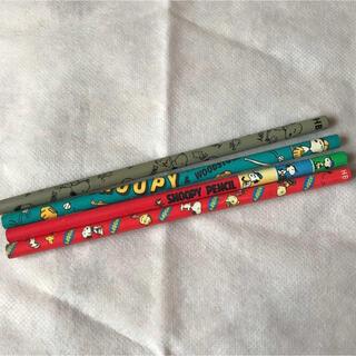 スヌーピー(SNOOPY)のサンリオ スヌーピーHB鉛筆☆4本セット 昭和レトロ 新品自宅保管品(鉛筆)