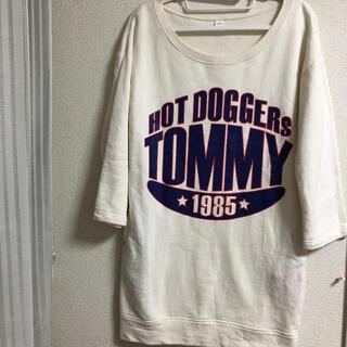 TOMMY HILFIGER - TOMMY HILFIGER トレーナーワンピース Sサイズ