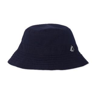 プチバトー(PETIT BATEAU)の【プチバトー】クロシェハット 紺(帽子)