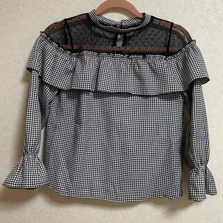 シマムラ(しまむら)の肩レース長袖(Tシャツ(長袖/七分))
