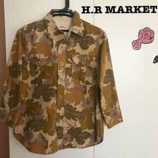 ハリウッドランチマーケット(HOLLYWOOD RANCH MARKET)のハリウッド ランチ マーケット 迷彩 カモフラ シャツ(Tシャツ/カットソー(七分/長袖))