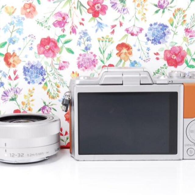 Panasonic(パナソニック)の美肌撮影♪LUMIX GF7  レンズセット★ スマホ/家電/カメラのカメラ(デジタル一眼)の商品写真
