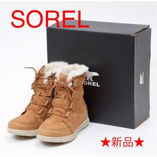 ソレル(SOREL)のSOREL / ソレル ウインターブーツ、ウォータープルーフ、レースアップ(ブーツ)