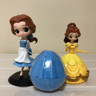 ディズニー(Disney)の美女と野獣 ベル フィギュアセット キューポスケット  カプキャラ (アニメ/ゲーム)