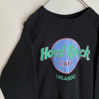 Hanes - ハードロックカフェ hard rock cafe トレーナー スウェット 90s