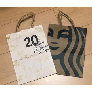 スターバックスコーヒー(Starbucks Coffee)のスタバ Starbucks スターバックス 紙袋 ショップ袋(ショップ袋)