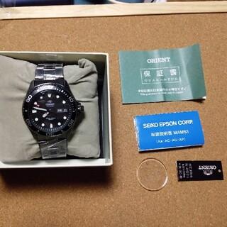 オリエント(ORIENT)の風防カスタム ORIENT オリエント レイ RN-AA0201B 未使用品(腕時計(アナログ))