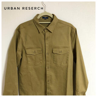 アーバンリサーチ(URBAN RESEARCH)の【美品】URBAN RESERCH Yシャツ 古着 メンズ(シャツ)