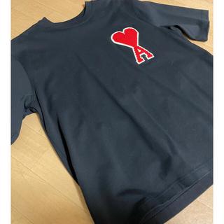 アクネ(ACNE)の美品 amiparis AMI  Tシャツ 伊勢丹メンズにて購入(Tシャツ/カットソー(半袖/袖なし))