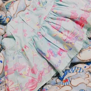 アンジェリックプリティー(Angelic Pretty)のベビールームスカート サックス(ミニスカート)