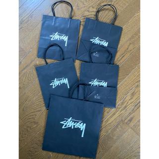 ステューシー(STUSSY)の送料込 非売品 ステューシーSTUSSYショップバッグ袋ショッパー大小5枚セット(その他)