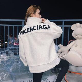 バレンシアガ(Balenciaga)の美品 BALENCIAGA ラムウールコート(ミリタリージャケット)