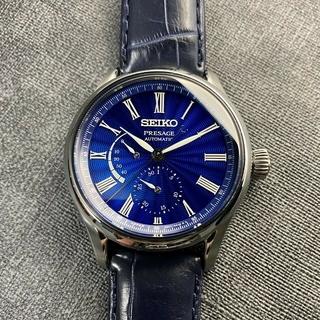 セイコー(SEIKO)の希少 限定販売 SEIKO 七宝ダイヤル プレザージュ SARX059 自動巻(腕時計(アナログ))