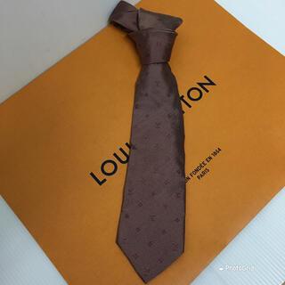 ルイヴィトン(LOUIS VUITTON)のLouis Vuitton ルイヴィトン ネクタイ 正規品!(ネクタイ)