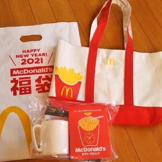マクドナルド(マクドナルド)のマクドナルド 福袋 マック McDonald's ハッピーバッグ 2021(ノベルティグッズ)