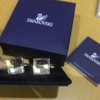 スワロフスキー(SWAROVSKI)のスワロフスキー カフリンクス カフス ボタン(カフリンクス)
