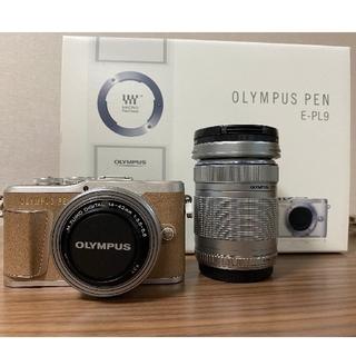 オリンパス(OLYMPUS)のOLYMPUS pen e-pl9 ダブルズームキット(ミラーレス一眼)