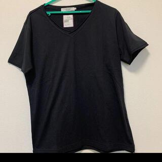 BEAMS - ビームス Tシャツ Vネック ブラック サイズXL