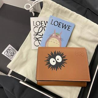 ロエベ(LOEWE)のLOEWE トトロ ダストバニー 6カード トライフォールド ウォレット(折り財布)