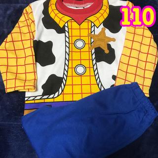 ディズニー(Disney)のトイストーリー ウッディ なりきり 長袖パジャマ 110(パジャマ)