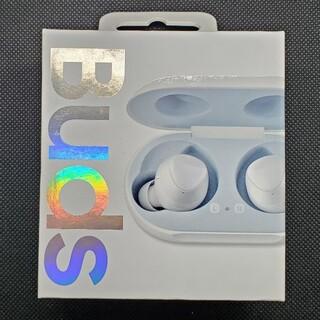 サムスン(SAMSUNG)の美品 SAMSUNG GALAXY BUDS WHITE(ヘッドフォン/イヤフォン)