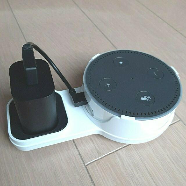 ECHO(エコー)のAmazon echo dot 第2世代 スマホ/家電/カメラのオーディオ機器(スピーカー)の商品写真