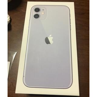 iPhone11 本体 パープル 128GB