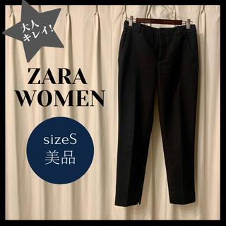ザラ(ZARA)の美品ZARA WOMENキレイめスラックス パンツ クロップドパンツ(クロップドパンツ)