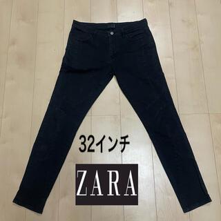 ZARA - Zara デニム スキニーパンツ 黒 32インチ