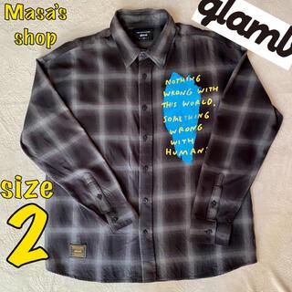 グラム(glamb)のglamb(グラム)ANTI SYSTEM SH アンチシステムシャツ(シャツ)