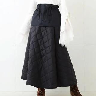 レイビームス(Ray BEAMS)のRBS キルトレイヤードスカート(ロングスカート)