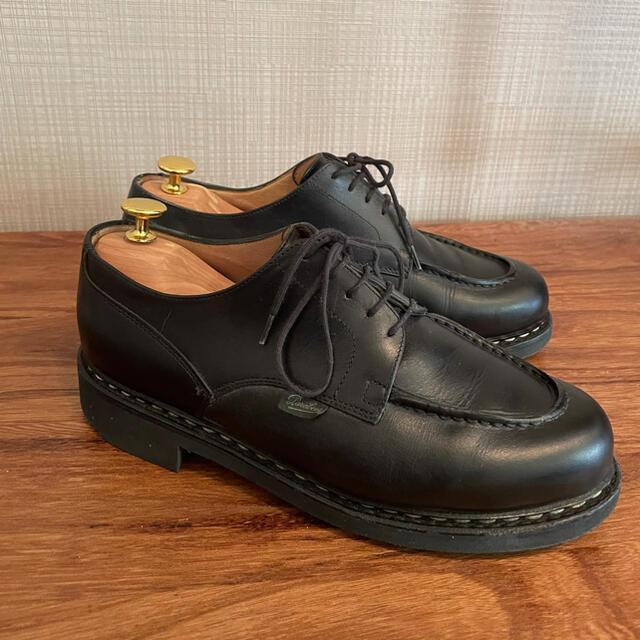 Paraboot(パラブーツ)のパラブーツ paraboot シャンボード ブラック 6 1/2 ミカエル メンズの靴/シューズ(ドレス/ビジネス)の商品写真