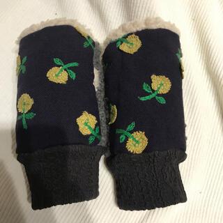 ミナペルホネン(mina perhonen)のミナペルホネン ハンドウォーマー スキップ  パープル(手袋)