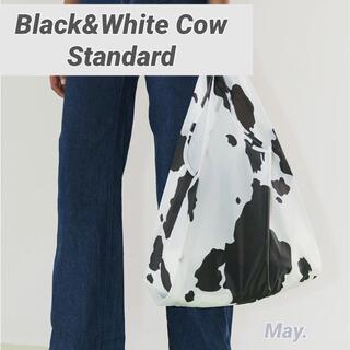 DEUXIEME CLASSE - 【BAGGU】カウ 白黒 牛 スタンダード Cow standard バグー