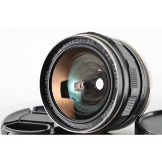 コニカミノルタ(KONICA MINOLTA)のミノルタ MC W. Rokkor-S 28mm f3.5 #1380(レンズ(単焦点))
