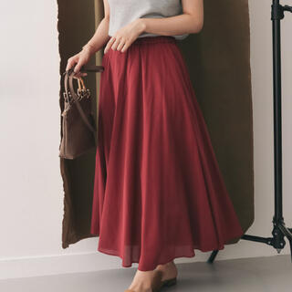 DOORS / URBAN RESEARCH - アーバンリサーチドアーズコットンシルク スカート 値下しました