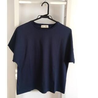 ロンハーマン(Ron Herman)のロンハーマン×ebure Tシャツ ネイビー(Tシャツ(半袖/袖なし))