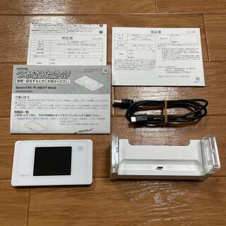 エヌイーシー(NEC)のWiMAX2+ Speed Wi-Fi NEXT WX05(PC周辺機器)