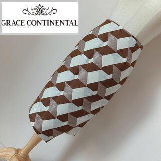 GRACE CONTINENTAL - グレースコンチネンタル ジャガードスカート